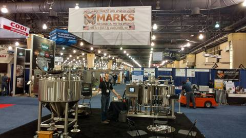 Marks Design and Metalworks - Stainless Steel vessels - Craft Brewers Conference 2016